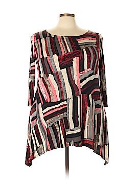 Lbisse 3/4 Sleeve Blouse Size 2X (Plus)