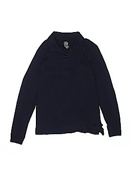 Faded Glory Long Sleeve Polo Size 18