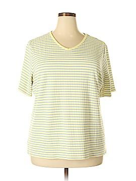 Classic Elements Short Sleeve T-Shirt Size 2X (Plus)