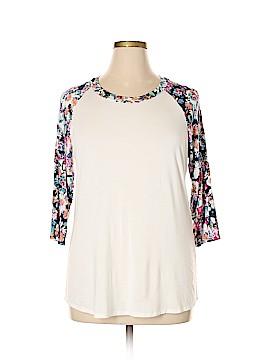 De Collection 3/4 Sleeve T-Shirt Size XXL