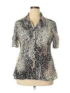 Studio 1940 Short Sleeve Blouse Size 18 - 20 (Plus)