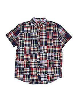 Talbots Kids Short Sleeve Button-Down Shirt Size 16