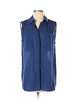 Vince. Sleeveless Button-Down Shirt Size S