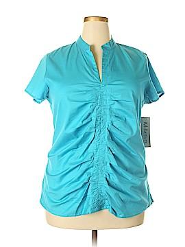 Millenium Short Sleeve Blouse Size 1X (Plus)