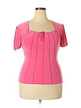 Vintage Suzie Short Sleeve Blouse Size XL