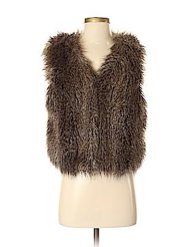 Ann Taylor Faux Fur Vest Size S