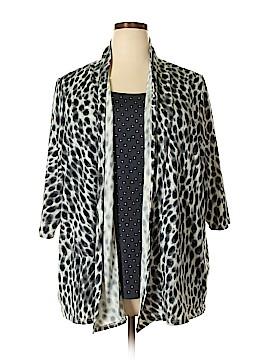 Cathy Daniels 3/4 Sleeve Top Size 2X (Plus)