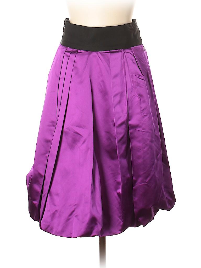 Oscar De La Renta Women Silk Skirt Size 10