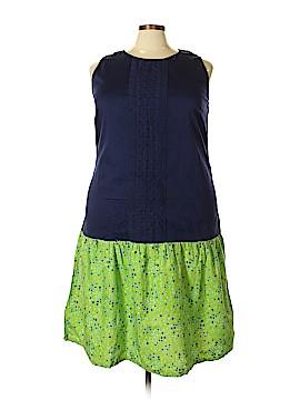 D&Co. Casual Dress Size 1X (Plus)
