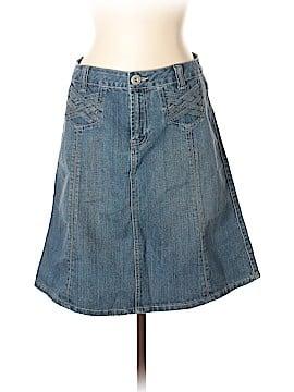 Baccini Denim Skirt Size 10