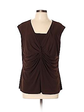 AA Studio AA Short Sleeve Top Size XL