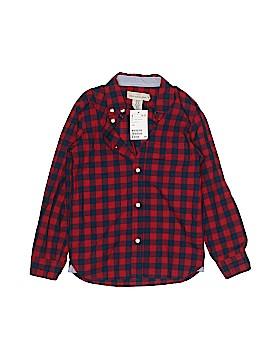 H&M L.O.G.G. Long Sleeve Button-Down Shirt Size 7 - 8