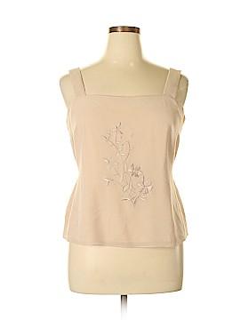 Draper's & Damon's Sleeveless Blouse Size 16 (Petite)