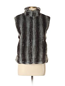 Blassport Faux Fur Vest Size M