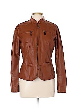 JouJou Faux Leather Jacket Size L
