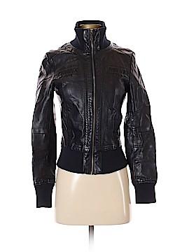 Catwalk Studio Faux Leather Jacket Size S