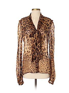 Dolce & Gabbana Long Sleeve Blouse Size 44 (IT)