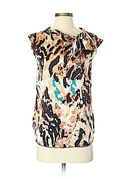 Rachel Roy Short Sleeve Silk Top Size XS
