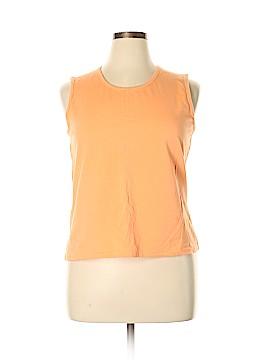 Denim & Co Sleeveless T-Shirt Size L