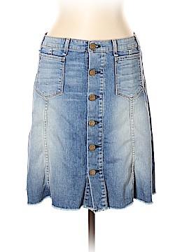 McGuire Denim Denim Skirt 30 Waist