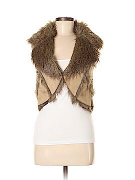 CLOCKHOUSE Faux Fur Vest Size S