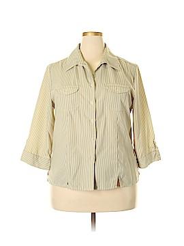 Joanna Long Sleeve Button-Down Shirt Size XL