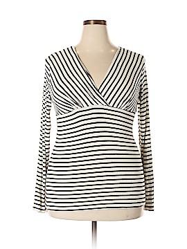 J Mode USA Long Sleeve Blouse Size 1X (Plus)
