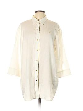 Lauren Jeans Co. 3/4 Sleeve Blouse Size XL