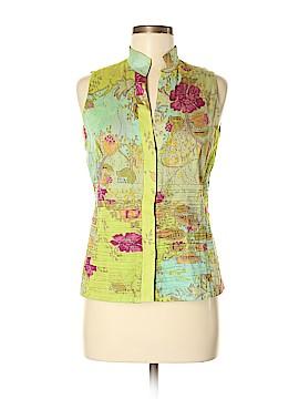 AKRIS for Bergdorf Goodman Sleeveless Blouse Size 8