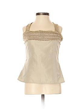 AKRIS Sleeveless Silk Top Size 4