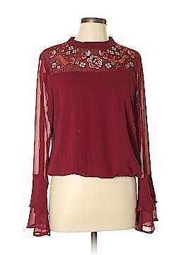 C. Wonder Long Sleeve Blouse Size L