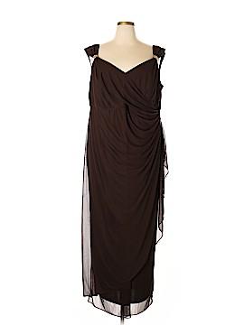 Alex Evenings Casual Dress Size 24 (Plus)