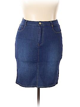 Isaac Mizrahi LIVE! Denim Skirt Size 14
