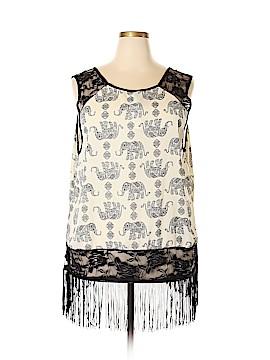 Rue21 Short Sleeve Blouse Size 3X (Plus)