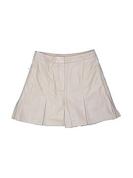 Tibi Leather Shorts Size 4
