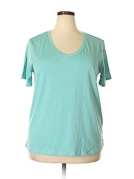 Splendid Short Sleeve T-Shirt Size 2X (Plus)