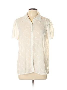 Studio 1940 Short Sleeve Blouse Size L