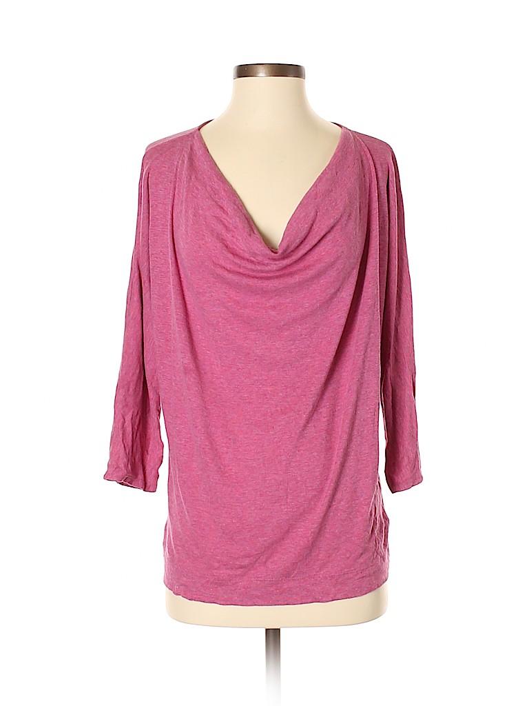 St. Tropez West Women 3/4 Sleeve Top Size S