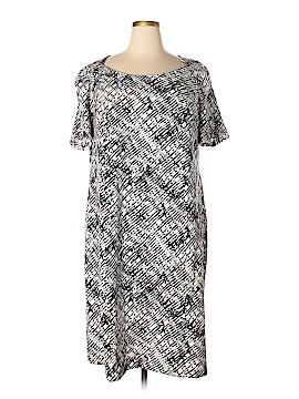 Roaman's Casual Dress Size 24 (Plus)