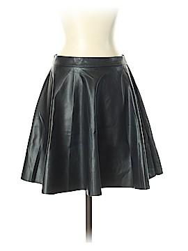 Miss Selfridge Faux Leather Skirt Size 4