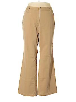 Talbots Khakis Size 16W