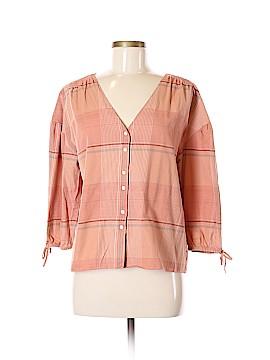 Madewell 3/4 Sleeve Button-Down Shirt Size M