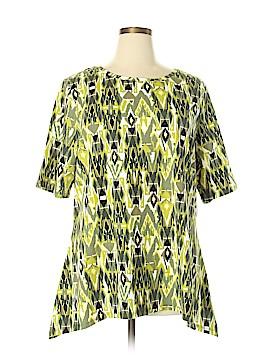D&Co. Short Sleeve Top Size XL