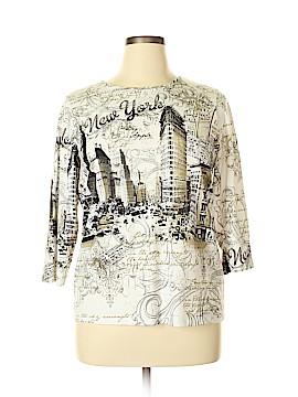 Allison Daley 3/4 Sleeve T-Shirt Size XL