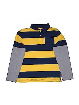 Crazy 8 Long Sleeve Polo Size 14
