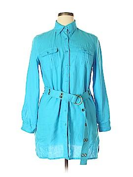 Carole Little Long Sleeve Button-Down Shirt Size XL