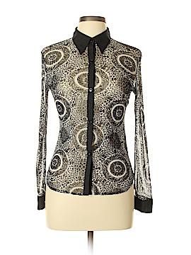 Vivienne Tam Long Sleeve Blouse Size Lg (3)