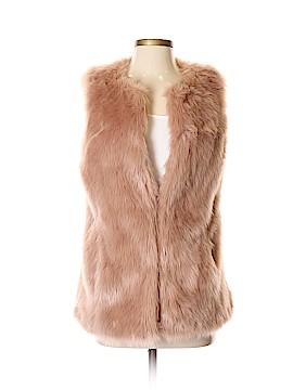 Bebe Faux Fur Vest Size S