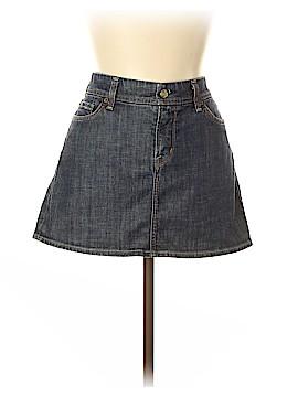 Barneys New York CO-OP Denim Skirt 30 Waist