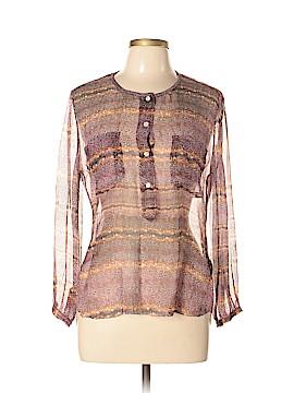 Étoile Isabel Marant Long Sleeve Silk Top Size 42 (FR)